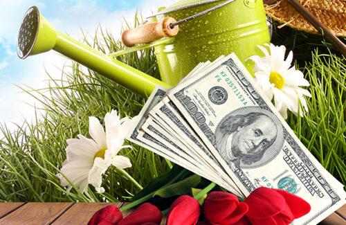 $24,000 APRIL SHOWERS, CASH FLOWERS